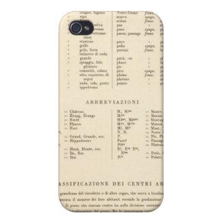 Leyenda Francia meridional 3536 iPhone 4 Cárcasas