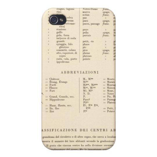 Leyenda Francia meridional 3536 iPhone 4 Carcasa