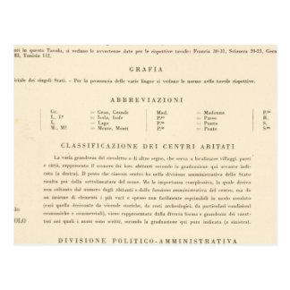 Leyenda Italia 2223 Tarjeta Postal