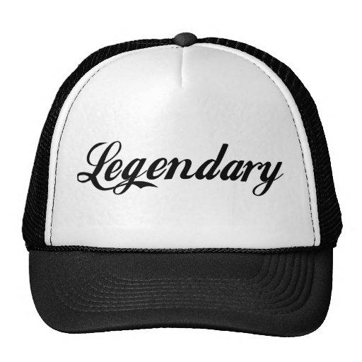 Leyenda legendaria gorras