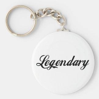 Leyenda legendaria llaveros personalizados