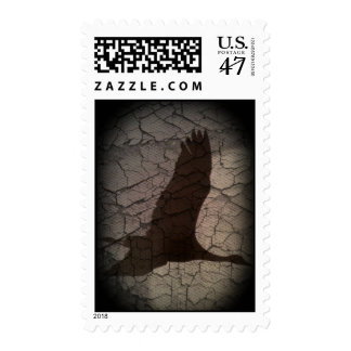 Leyendas del franqueo de la grúa timbre postal