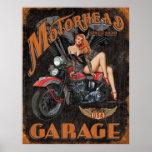 Leyendas - garaje de Motorhead Posters
