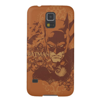 Leyendas urbanas de Batman - máscara anaranjada Funda Galaxy S5