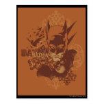 Leyendas urbanas de Batman - máscara anaranjada Tarjetas Postales
