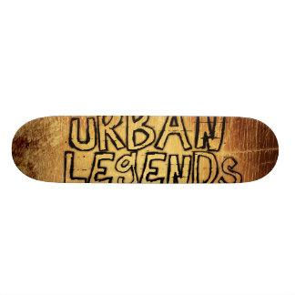 leyendas urbanas monopatin personalizado