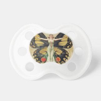 Leyendecker Butterfly Woman Pacifier