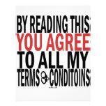 Leyendo esto usted está de acuerdo membrete a diseño