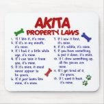 Leyes 2 de la propiedad de AKITA Tapete De Ratones