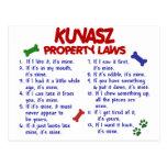 Leyes 2 de la propiedad de KUVASZ Postal