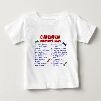 Leyes 2 de la propiedad de la CHIHUAHUA Camisas
