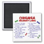 Leyes 2 de la propiedad de la CHIHUAHUA Iman De Frigorífico