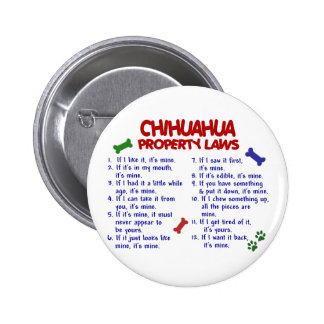 Leyes 2 de la propiedad de la CHIHUAHUA Pins