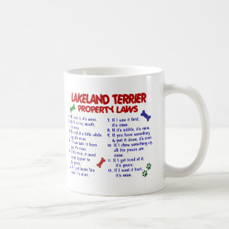 Leyes 2 de la propiedad de LAKELAND TERRIER Taza