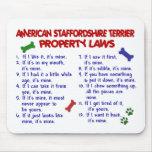 Leyes 2 de la propiedad de STAFFORDSHIRE del AMERI Tapete De Ratón