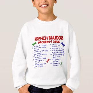 Leyes 2 de la propiedad del DOGO FRANCÉS Camisas