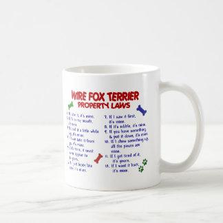 Leyes 2 de la propiedad del FOX TERRIER del Taza De Café