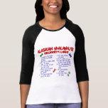 Leyes 2 de la propiedad del MALAMUTE DE ALASKA Camisetas
