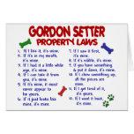 Leyes 2 de la propiedad del ORGANISMO de GORDON Felicitación