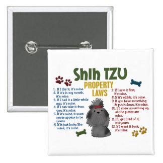 Leyes 4 de la propiedad de Shih Tzu Pins