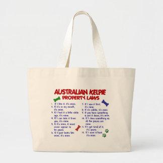 Leyes AUSTRALIANAS 2 de la propiedad del KELPIE Bolsa