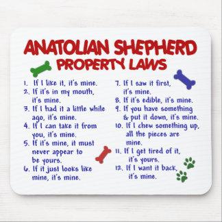 Leyes DE ANATOLIA 2 de la propiedad del PASTOR Mouse Pads