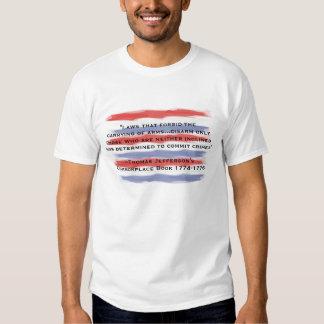 Leyes que prohíben llevar de brazos camisas