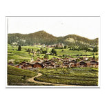 Leysin, general view of village and hotels, Nand, Post Cards