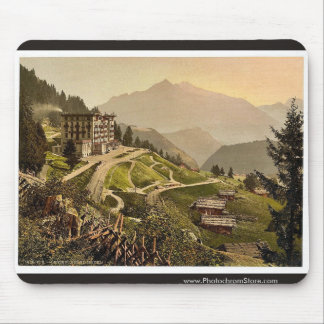 Leysin, Grand Hotel, Nand of Canton, Switzerland v Mouse Pad