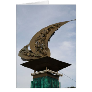 Leyte Gulf landing monument in Palo, Leyte Card