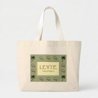LEYTE Philippines Jumbo Tote Bag