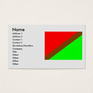 Leyva, Columbia Business Card