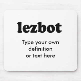 LEZBOT MOUSE PADS