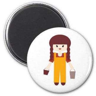 LFarmersP13 2 Inch Round Magnet