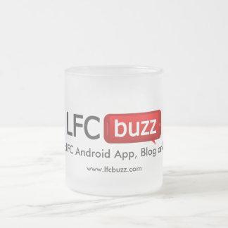 LFC buzz Frosted Glass Coffee Mug