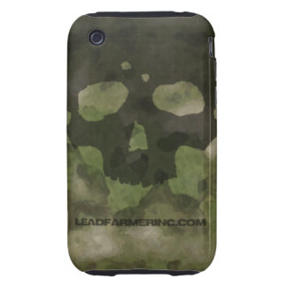 LFI Double Tap Skull ATACS FG for the i-phone 3G Tough iPhone 3 Case