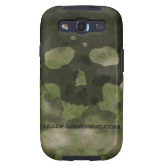 LFI Double Tap Skull ATACS FG SAMSUNG GALAXY S Samsung Galaxy SIII Cases