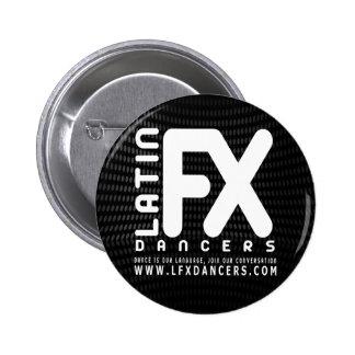 LFX Official Button Black