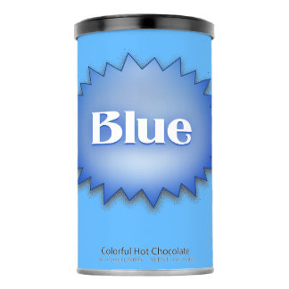 Lg. Blue Hot Chocolate Drink Mix
