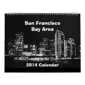 LG calendario de 2014 áreas de la Bahía de San Fra