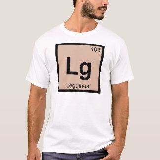Lg - Legumes Chemistry Periodic Table Symbol T-Shirt
