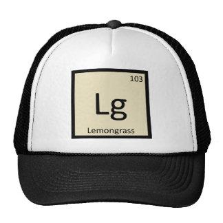 Lg - Lemongrass Chemistry Periodic Table Symbol Trucker Hat