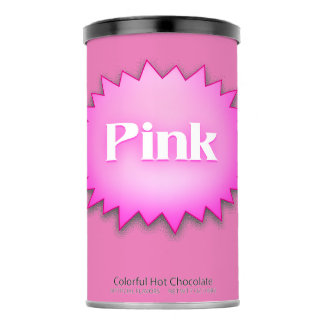 Lg. Pink Hot Chocolate Drink Mix