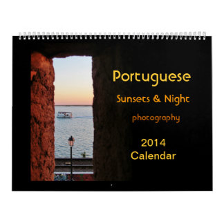 LG Portuguese Sunsets calendar 2014