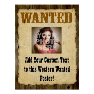 Lg Wanted Poster Old-Time Photo Posters