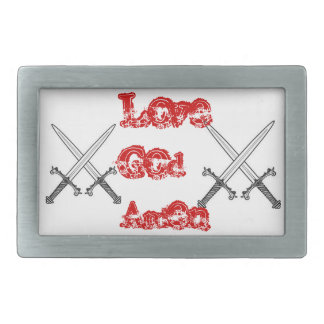 lgabelt rectangular belt buckle