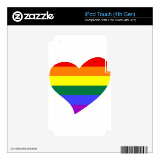 lgbt10 decals for iPod touch 4G