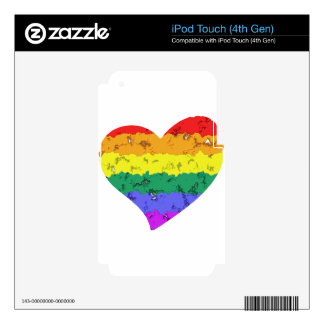 lgbt11 iPod touch 4G decals