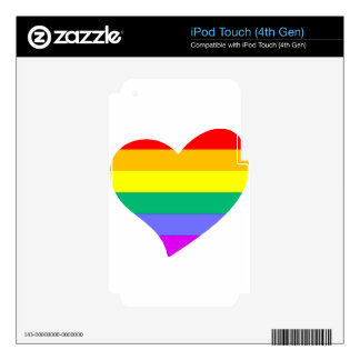 lgbt13 iPod touch 4G decal