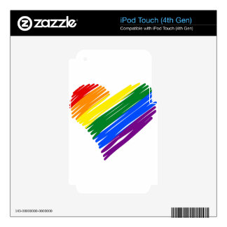 lgbt16 skin for iPod touch 4G
